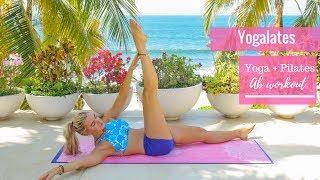 Yogalates Yoga + Pilates  Ab workout