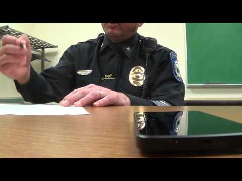 Police Chief Interview NH Regional and Keene CopBlock