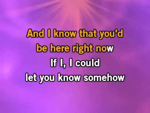 Miley Cyrus - Every Rose Has It's Thorn (Karaoke/Instrumental) with lyrics
