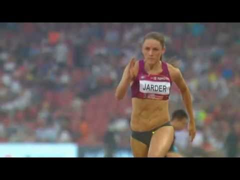 Erica Jarder - Long jump Beijing IAAF World Challenge May 21th 2014