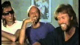 The Bee Gees, Miami interview, 1987 RARE