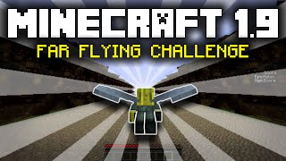 Minecraft Custom Map - The Minecraft 1.9 Far Flying Challenge!