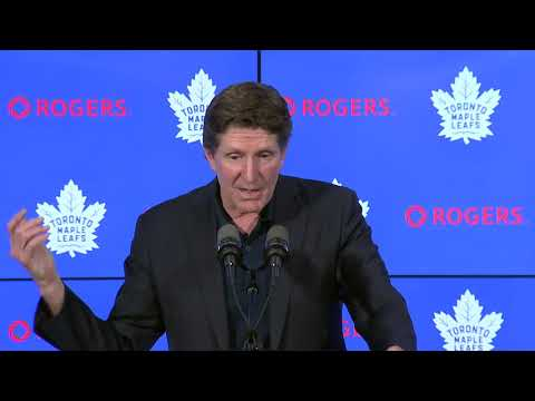 Toronto Maple Leafs HC Mike Babcock Season Ending FULL Press Conference