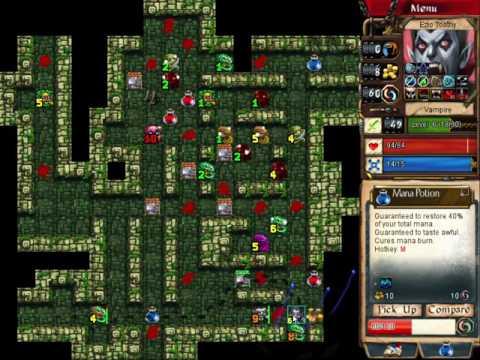 Desktop Dungeons: Naga City, Vampire