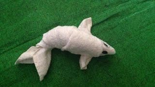 FISH - TOWEL CREATION