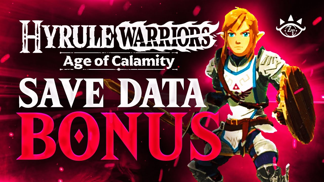 New Save Data Bonus Revealed By Nintendo Gameplay For Hyrule Warriors Age Of Calamity Youtube