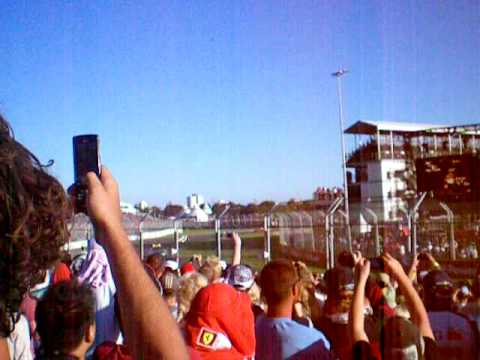 Melbourne F1 Grand Prix 2009 safety car period