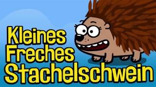 ♪ ♪ Kinderlied Stachelschwein - Kleines Freches Stachelschwein - Hurra Kinderlieder