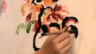 Обучение китайской живописи и живописи у-син. Какими мазками рисовать