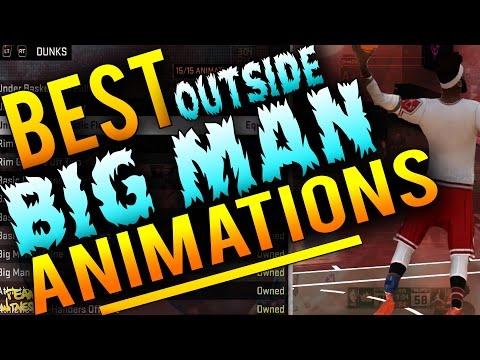 NBA 2K16 Tips: Best OUTSIDE BIG MAN Animations! Best JUMPSHOT, Sig Styles & BADGES For Outside PF/C!