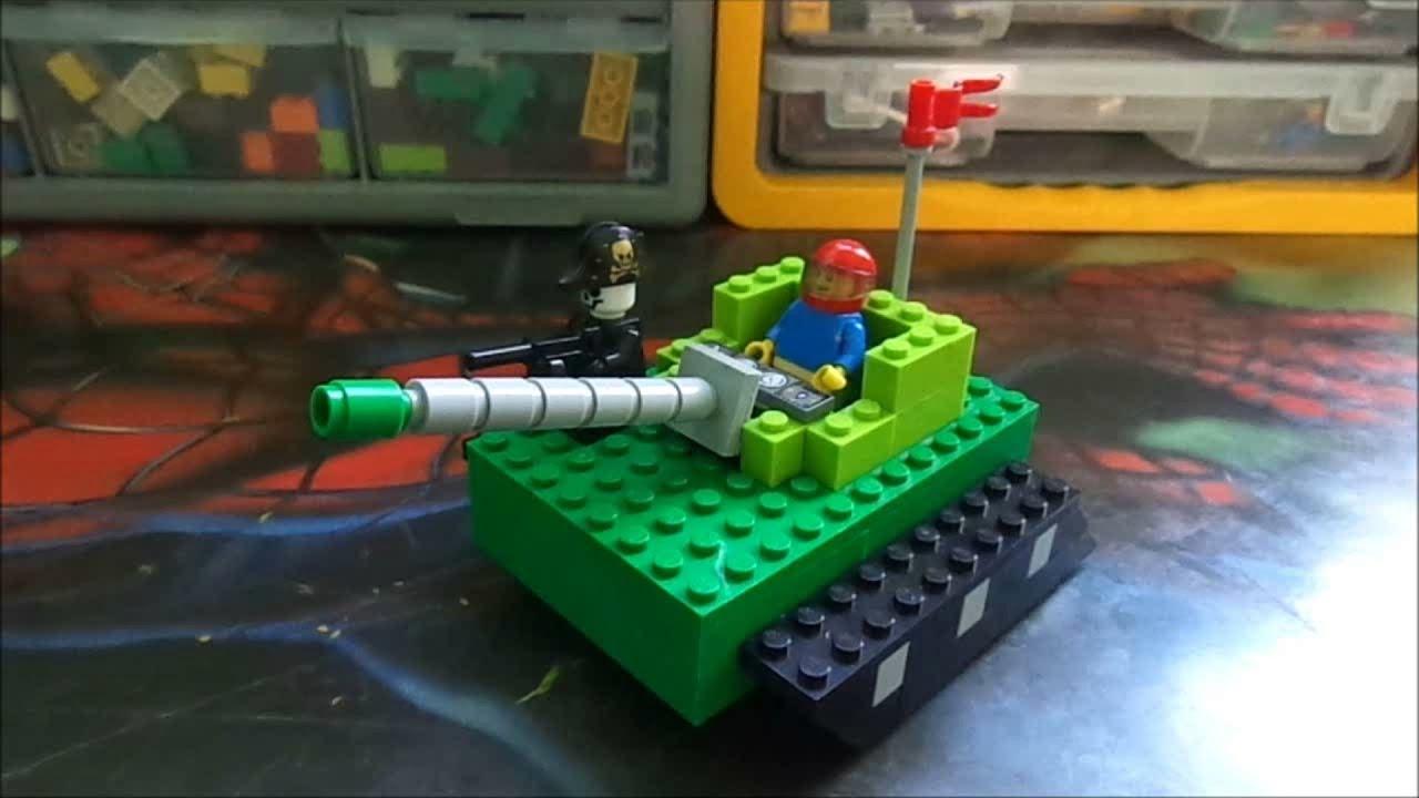 Como hacer un tanque lego mr p youtube for Como construir una pileta de agua