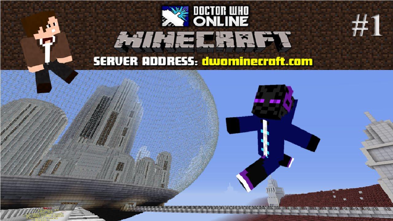 doctor who minecraft server
