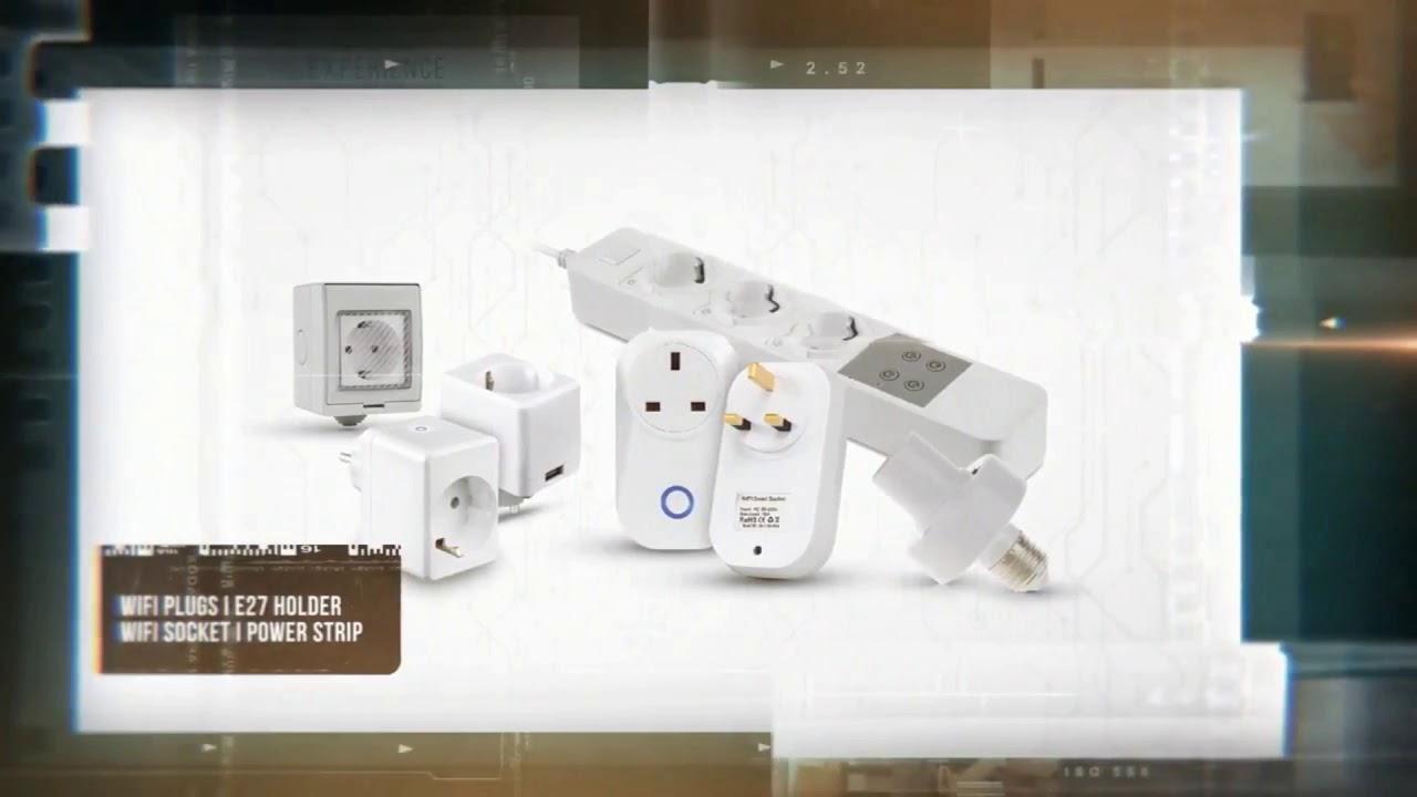 b94eac487ab LED puutetundlik lüliti V-TAC wifi (Alexa, google home), valge -  LEDoutlet.ee