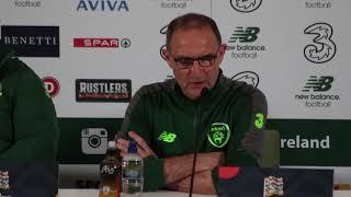 Rep. of Ireland v Denmark: Martin O'Neill full press conference