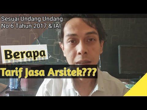 Tarif Jasa Arsitek, Harga Desain Rumah Sesuai Undang undang & IAI