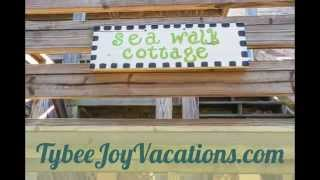 Sea Walk Cottage-Tybee Joy Vacations-Tybee Island, GA