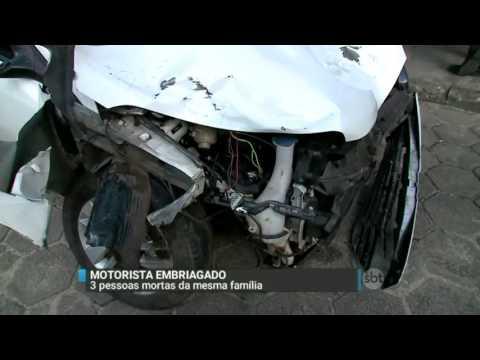 SBT Brasil (13/06/16) Motorista embriagado atropela e mata três pessoas da mesma família em Belém