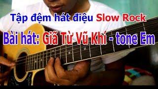MỘT MAI GIÃ TỪ VŨ KHÍ Guitar Slowrock Đơn Giản Nhất ĐỂ TỰ HỌC ĐÀN Ở NHÀ.