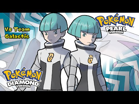 Pokemon Diamond/Pearl/Platinum - Battle! Team Galactic Music (HQ)