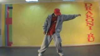 Обучающее видео hip-hop (хип-хоп): связка 2