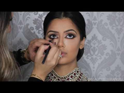 Indian | Bollywood |South Asian Bridal Makeup | Start to Finish | BEAUTY BY KIRAN GILL