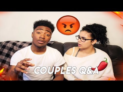 I CAN'T BELIEVE HE ADMITTED THIS IN OUR Q&A 😡🌶️ | COUPLES Q&A 💔 QUIZ