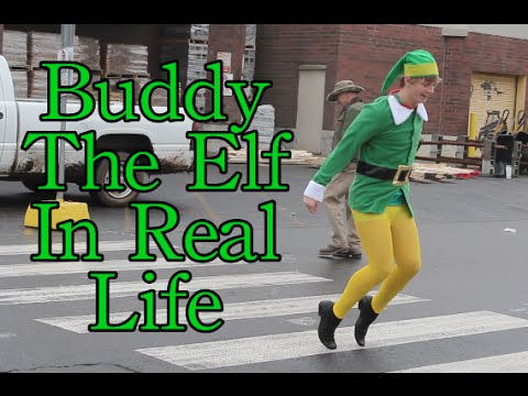 Buddy the Elf in Real Life