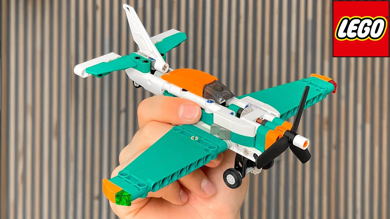 Вот как работает LEGO техник   Сборка небольшого набора