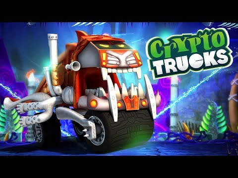 Sasquash Mudwash | CryptoTrucks Cartoon | Crypto force | Truck For Kids | Monster Truck Cartoons