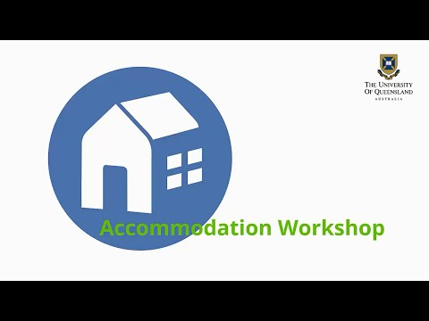 UQ Accommodation Services Workshop