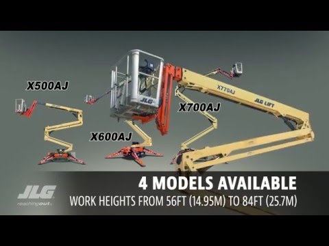 JLG Compact Crawler Booms Lifts