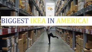 BIGGEST IKEA IN AMERICA!!