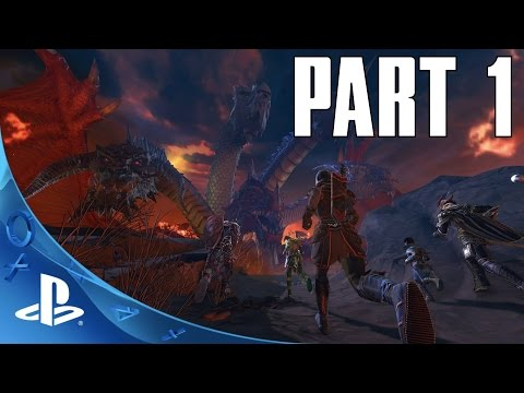 CONTROL WIZARD GAMEPLAY! Neverwinter (PS4) - Part 1 Walkthrough Lets Play (PS4 HD)