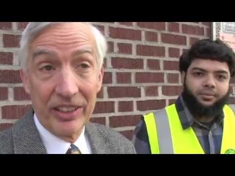 A special representative of the White House visited ICNA Relief camp in Brooklyn