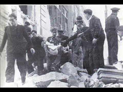 bombardejos sobre Barcelona i Catalunya