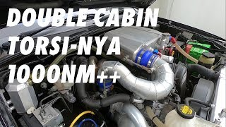 DIESEL POWER ! TORSI 1000 nm ++  560hp ! TWIN TURBO HILUX