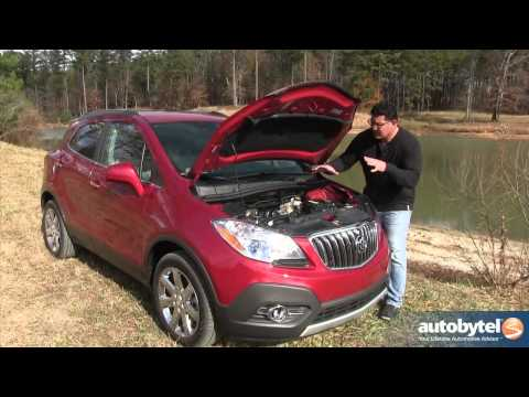 2013 Buick Encore Test Drive & Luxury Crossover SUV Video Review