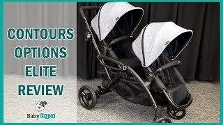 NEW Contours Options Elite 2016 Stroller Review