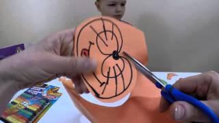 Развивающие игры для детей. Как сделать маски.