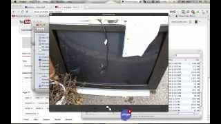 "2003 Sharp 36C231 ~32"" CRT TV on the street. (For theCRTman)"