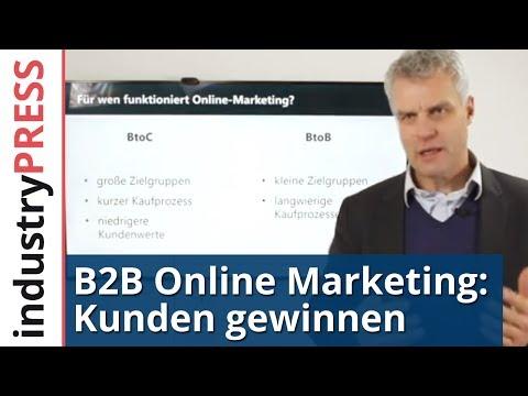 B2B Online Marketing: Kunden gewinnen