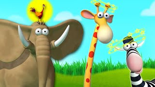 Jungle Pranks   Funny Cartoon For Kids   Gazoon Official Channel