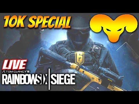 10.000 Abonnenten Special - Rainbow Six Siege Community Stream   Rainbow Six Siege gameplay deutsch