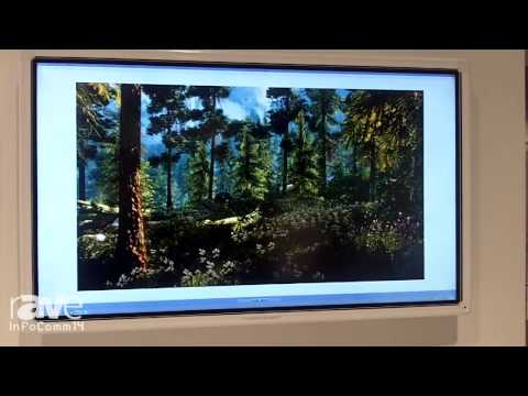 InfoComm 2014: Triumph Board Shows its 84-inch Multitouch LED LCD with 4K Resolution
