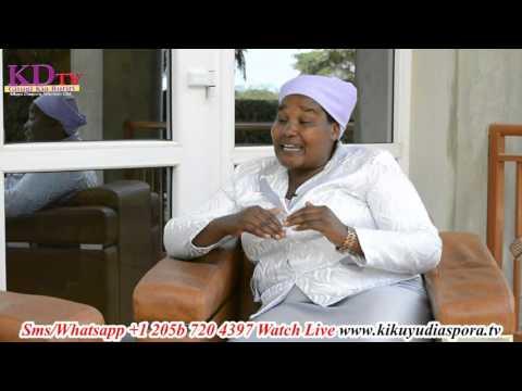 Sarah Wambui Kimunyi( uyu niwe Ngai uria turenda) Interview