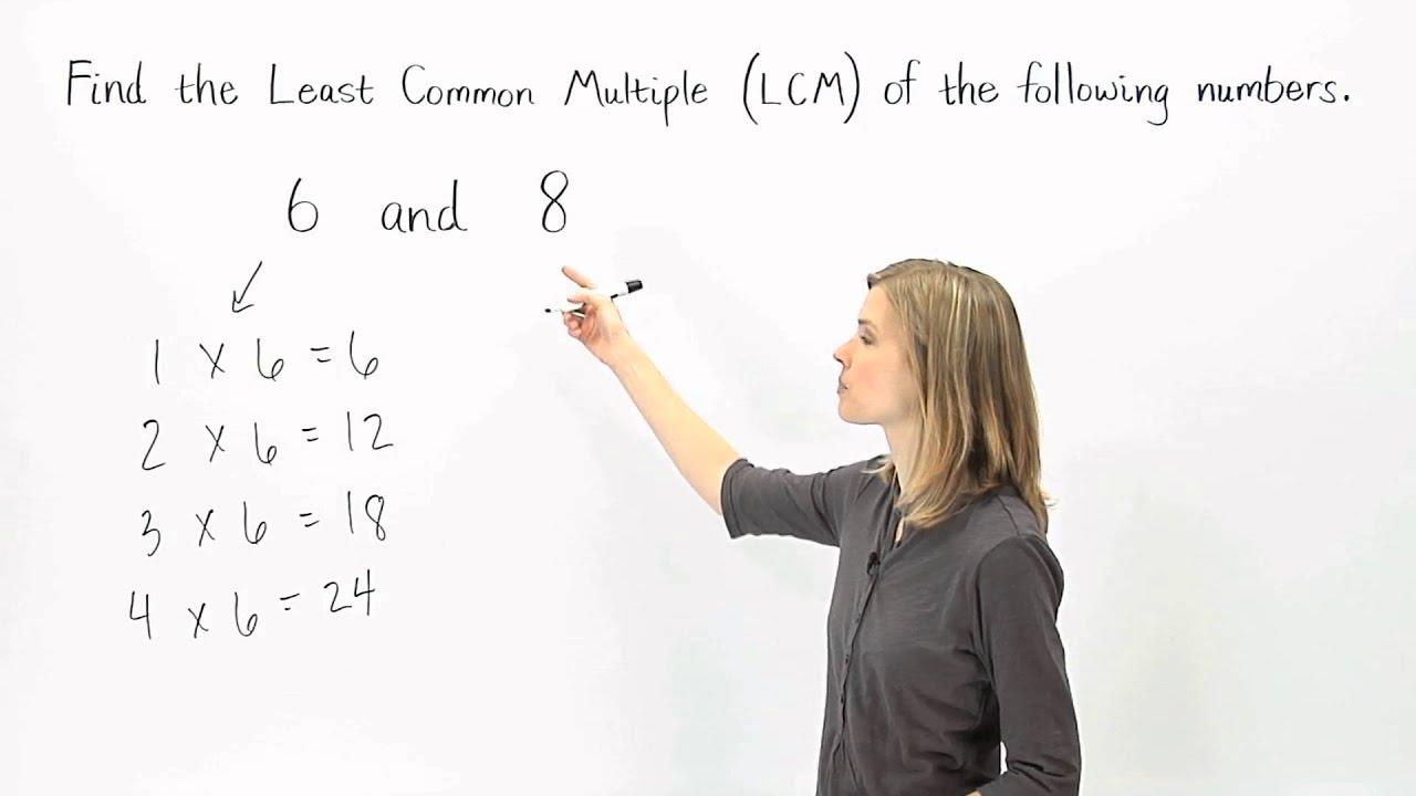 Lcm Least Common Multiple Mathhelp