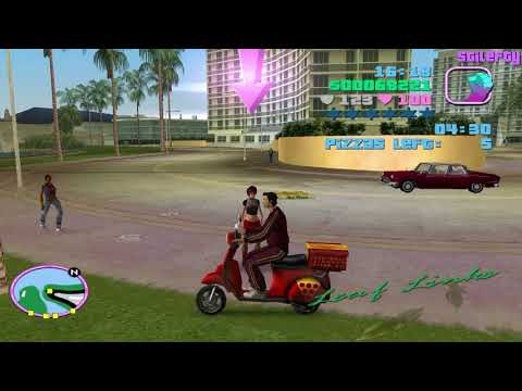GTA Vice City - Pizza Boy [10 Levels]