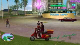 GTA Vice City - Pizza Boy [10 Levels]