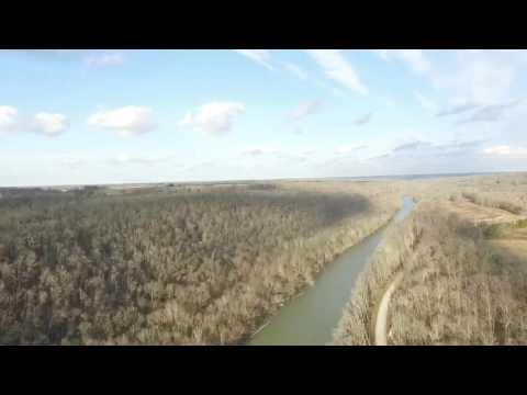 Drone Flight over the Beautiful Kentucky River via DJI Phantom 3