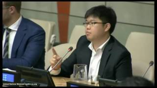 Q3 Steve Lee Q&A Panel at United Nations International Youth Day 2016